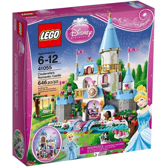 Obrázek produktu LEGO Disney 41055 Popelčin romantický zámek