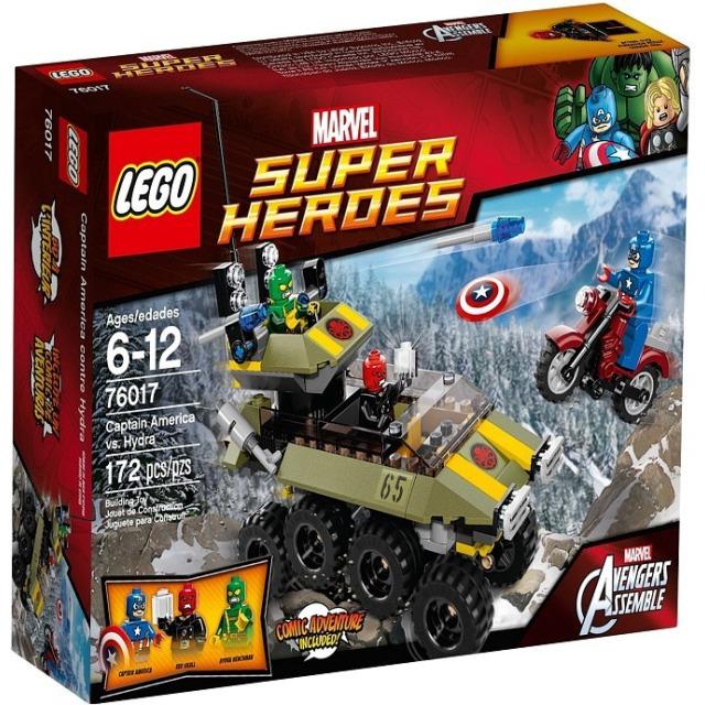 Obrázek produktu LEGO Super Heroes 76017 Captain America vs. Hydra