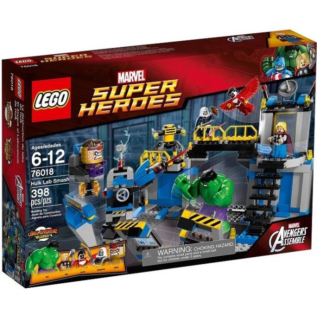 Obrázek produktu LEGO Super Heroes 76018 Hulk Rozbití laboratoře