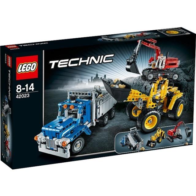 Obrázek produktu LEGO Technic 42023 Stavbaři