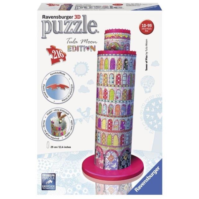 Obrázek produktu 3D Puzzle Tower of Pisa, Tula Moon Edice, 216d. Ravensburger