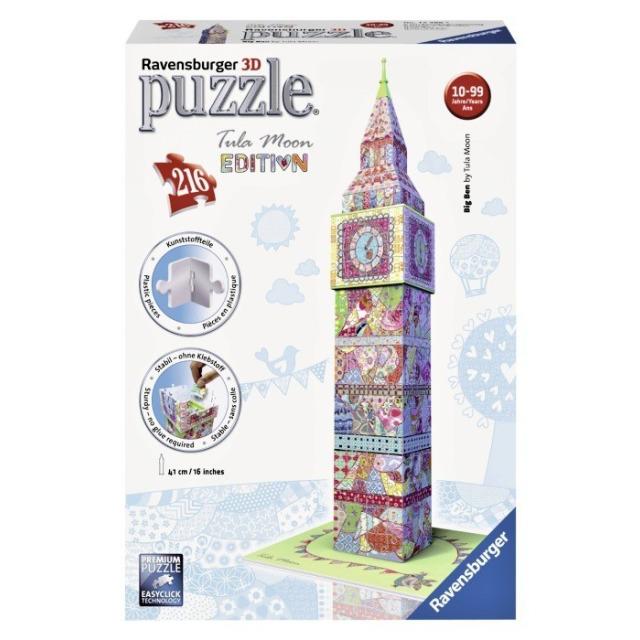 Obrázek produktu 3D Puzzle Big Ben, Tula Moon Edice, 216d. Ravensburger