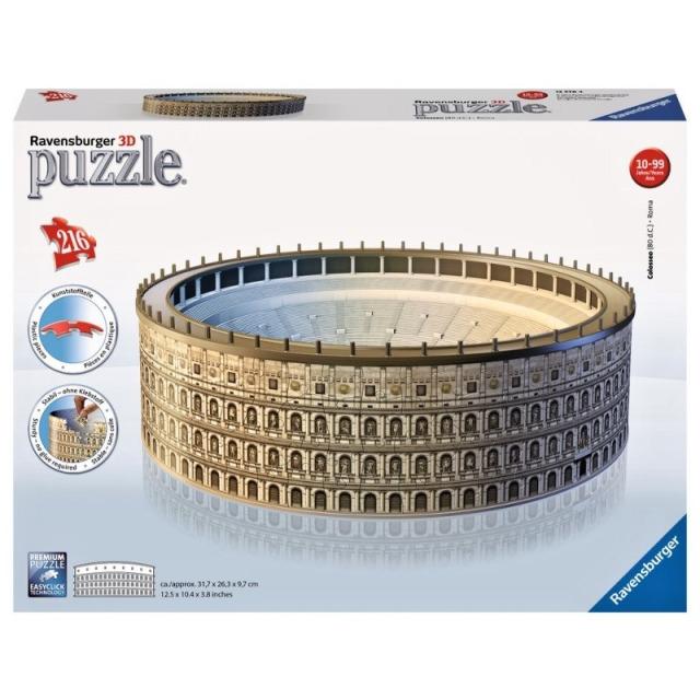 Obrázek produktu Ravensburger 12578 Puzzle 3D Koloseum 216 dílků