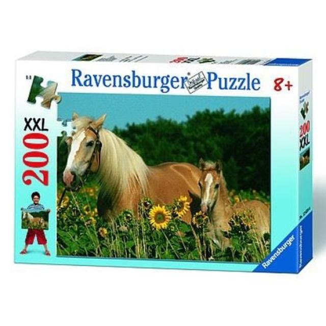 Obrázek produktu Ravensburger 12628 Puzzle Koně na louce XXL 200 dílků