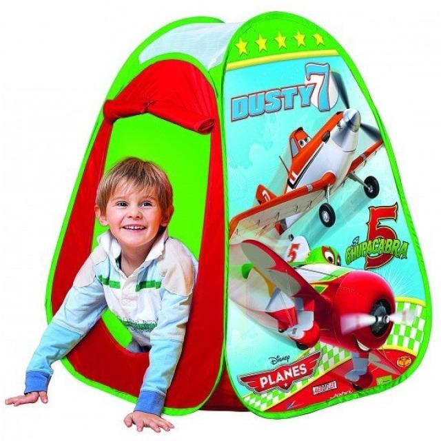 Obrázek produktu Dětský stan na hraní Planes 75x75x90cm