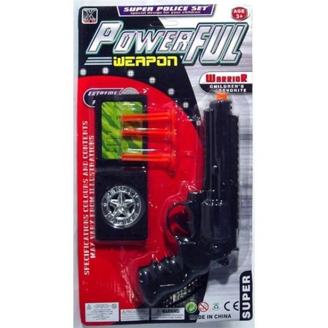 Obrázek produktu Policejní set: Pistole, odznak