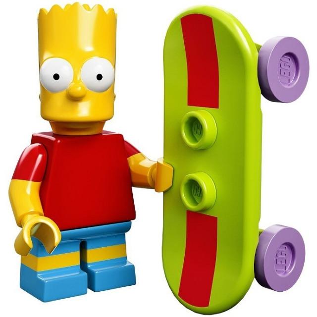 Obrázek produktu LEGO Minifigurky Simpsons 71005 Bart Simpson