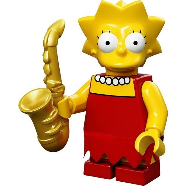 Obrázek produktu LEGO Minifigurky Simpsons 71005 Lisa Simpson