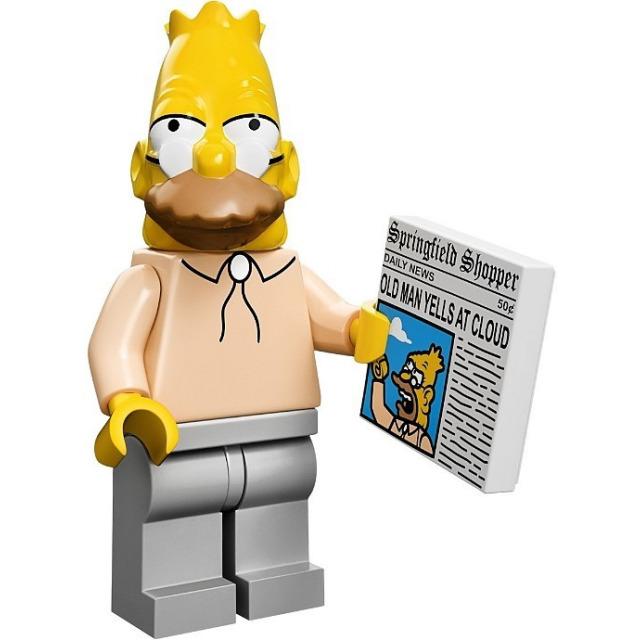 Obrázek produktu LEGO Minifigurky Simpsons 71005 Děda Simpson