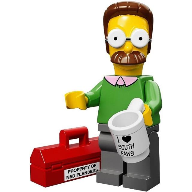 Obrázek produktu LEGO Minifigurky Simpsons 71005 Ned Flanders