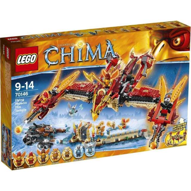Obrázek produktu LEGO CHIMA 70146 Létající ohnivý chrám Fénix