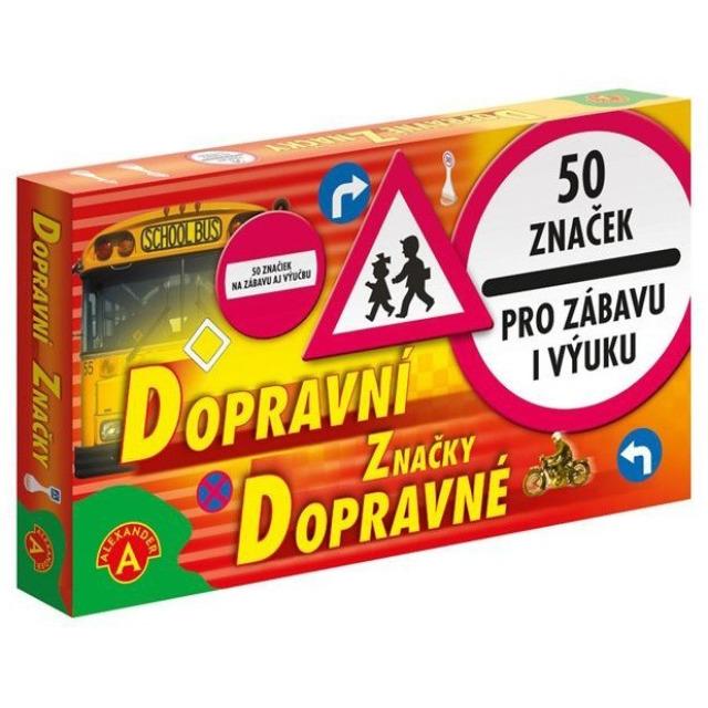 Obrázek produktu Dopravní značky 50 ks
