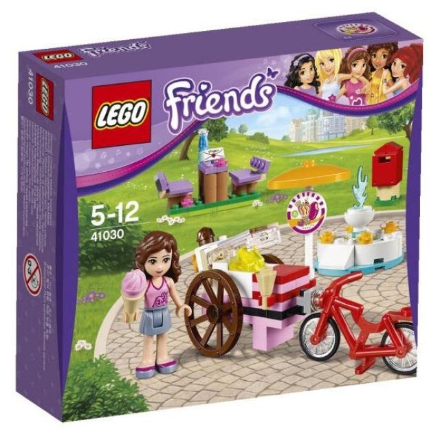 Obrázek produktu LEGO Friends 41030 Olivia a zmrzlinářské kolo