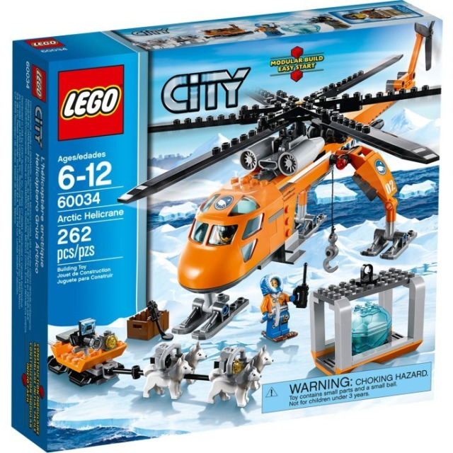 Obrázek produktu LEGO CITY ARKTIS 60034 Polární Heli-Jeřáb