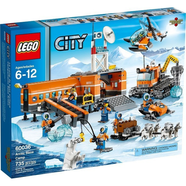 Obrázek produktu LEGO CITY ARKTIS 60036 Polární základní tábor