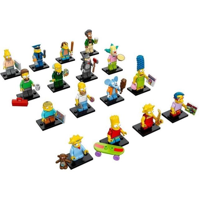 Obrázek produktu LEGO 71005 Kolekce 16 minifigurek série The Simpsons