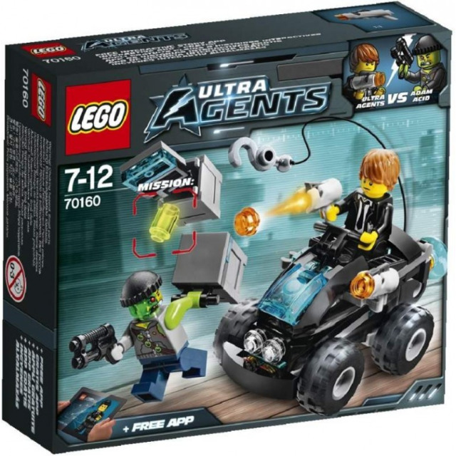 Obrázek produktu LEGO Agents 70160 Pobřežní nájezd