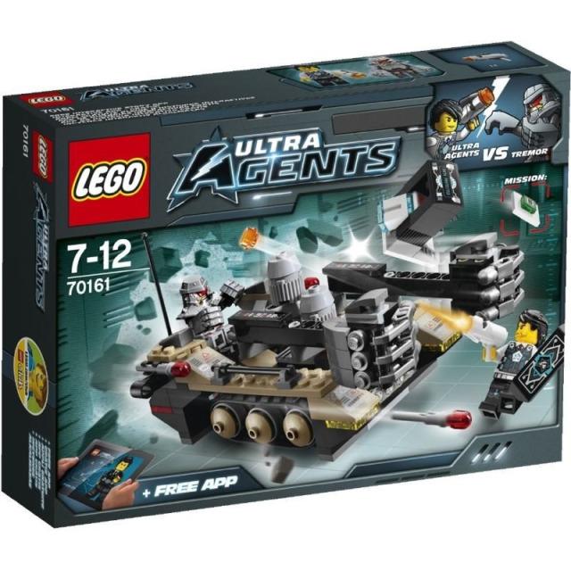 Obrázek produktu LEGO Agents 70161 Otřesy na trati