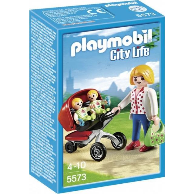 Obrázek produktu Playmobil 5573 Kočárek pro dvojčata