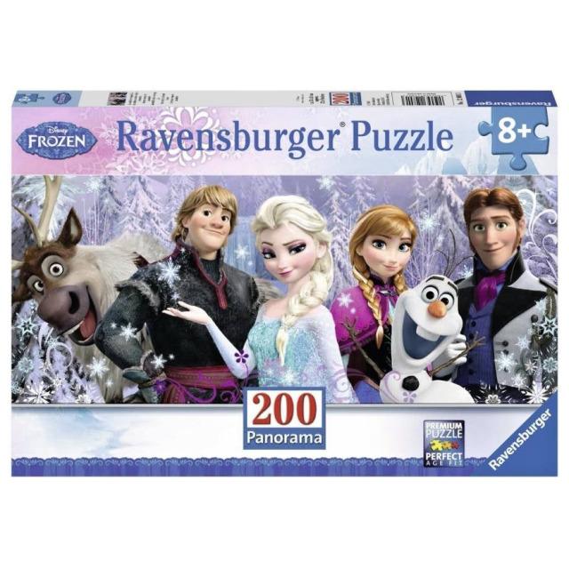 Obrázek produktu Ravensburger 12801 Puzzle Ledové království Panorama 200 dílků