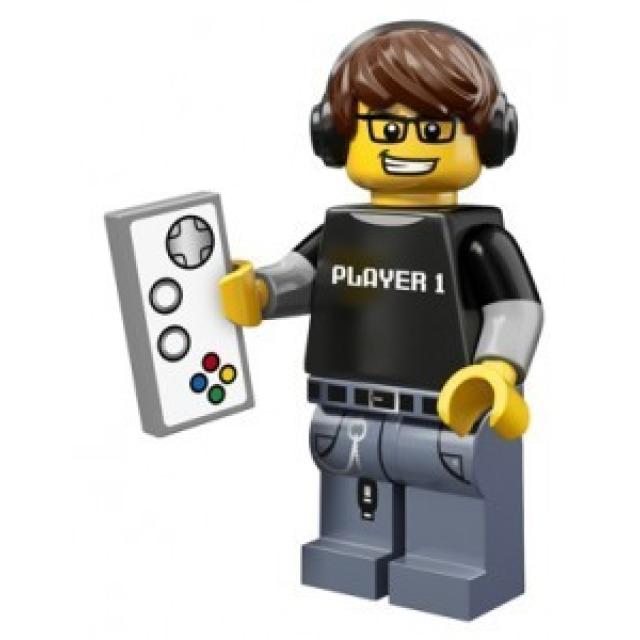 Obrázek produktu LEGO 71007 Minifigurka Hráč videoher