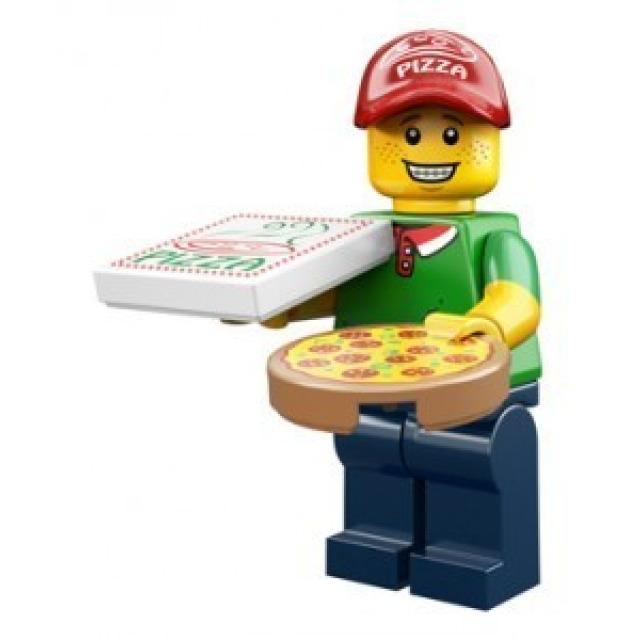 Obrázek produktu LEGO 71007 Minifigurka Rozvoz Pizzy