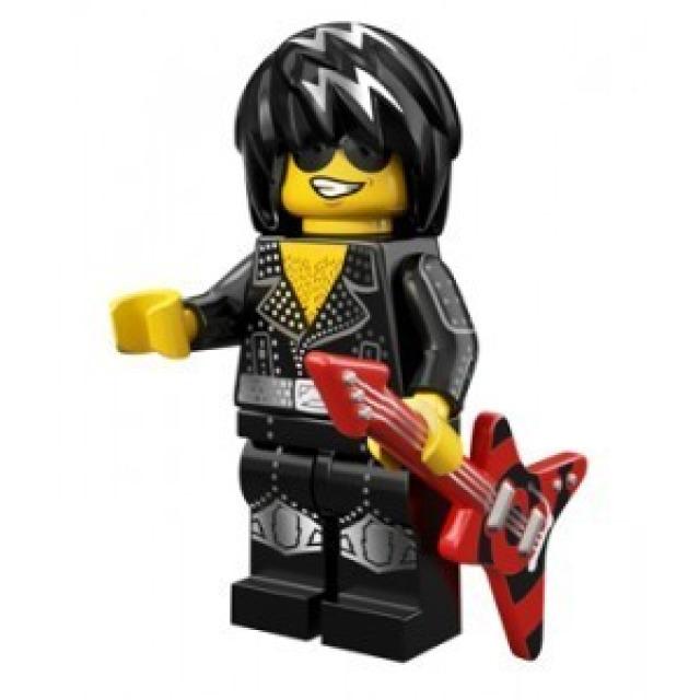Obrázek produktu LEGO 71007 Minifigurka Rocková hvězda
