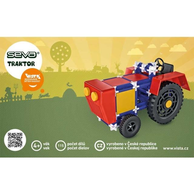 Obrázek produktu SEVA Klasik Nejmenší - Traktor, 115 dílků