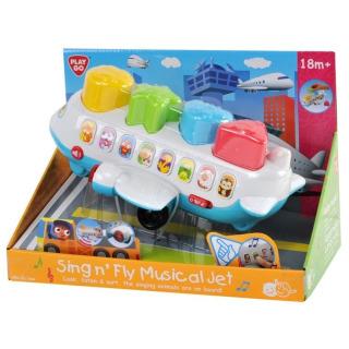 Obrázek 1 produktu Hudební letadlo vkládačka Play Go