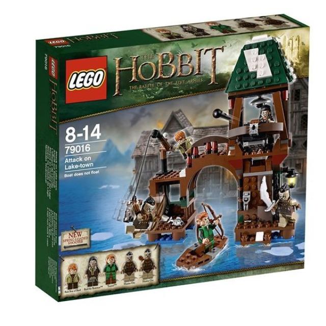 Obrázek produktu LEGO Hobbit 79016 Útok na Jezerní město