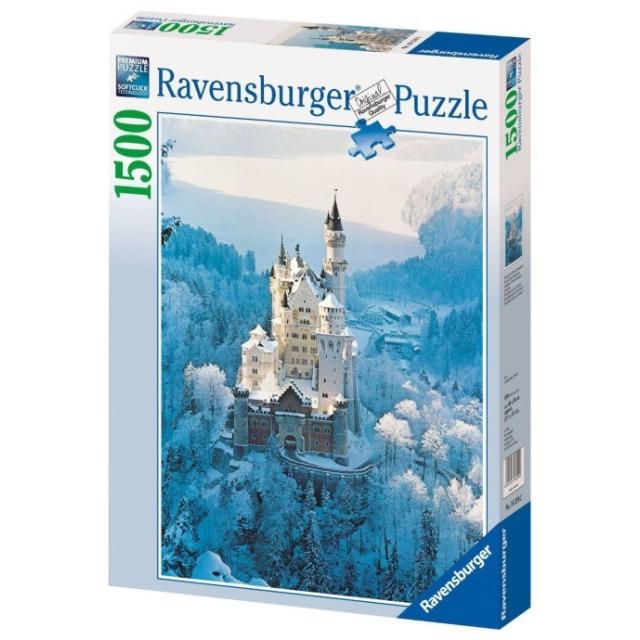 Obrázek produktu Ravensburger 16219 Puzzle Zámek Neuschwanstein v zimě 1500 dílků