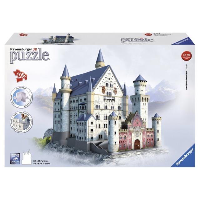 Obrázek produktu Ravensburger 12573 Puzzle Neuschwanstein 216 dílků