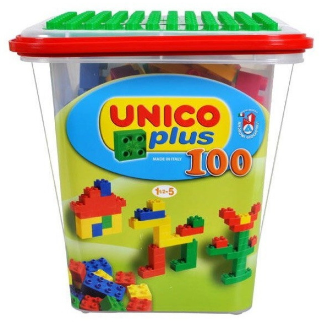 Obrázek produktu Stavebnice Unico Plus box, 100 dílů