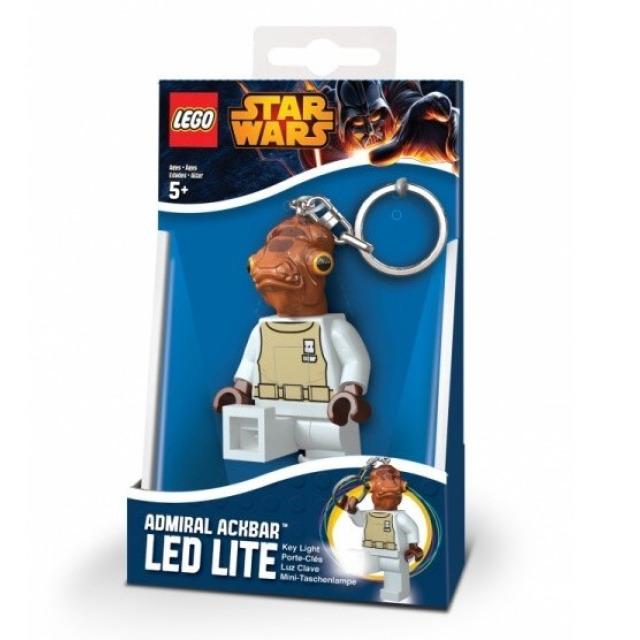 Obrázek produktu Lego LED klíčenka Star Wars Admirál Ackbar, figurka 8 cm