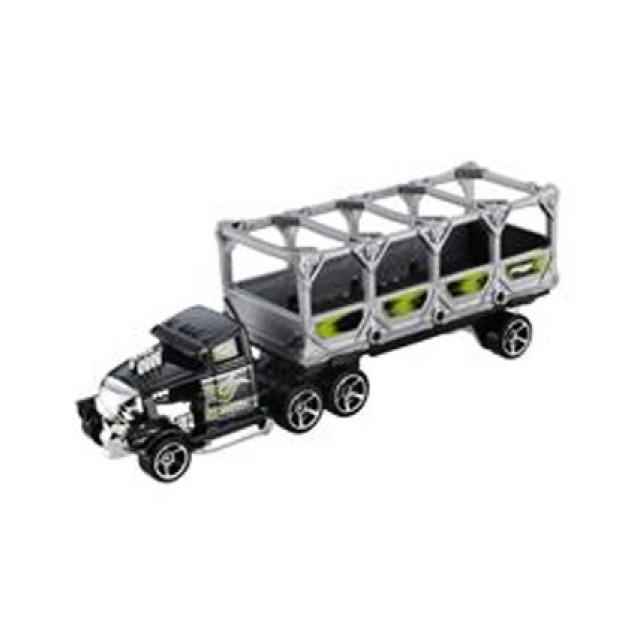 Obrázek produktu Hot Wheels dráhový tahač Bone Blazers, černozelený BGK22