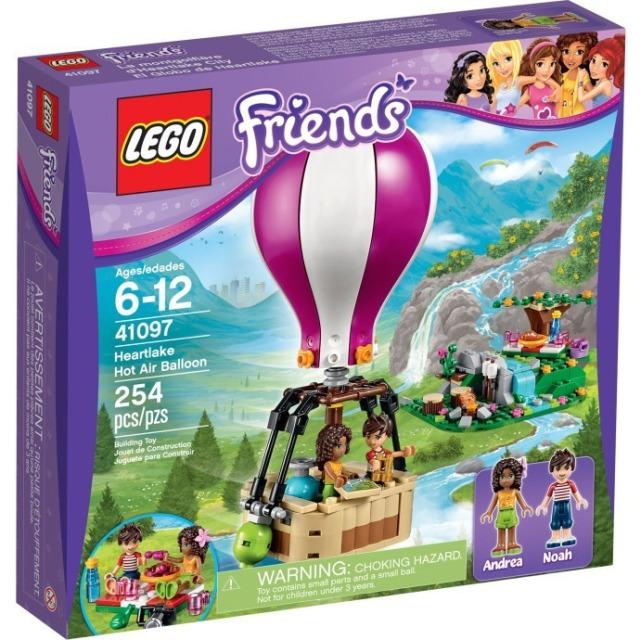 Obrázek produktu LEGO Friends 41097 Horkovzdušný balón v Heartlake