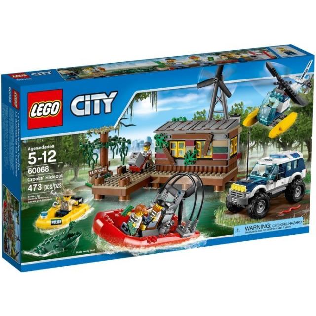 Obrázek produktu LEGO CITY 60068 Úkryt zlodějů