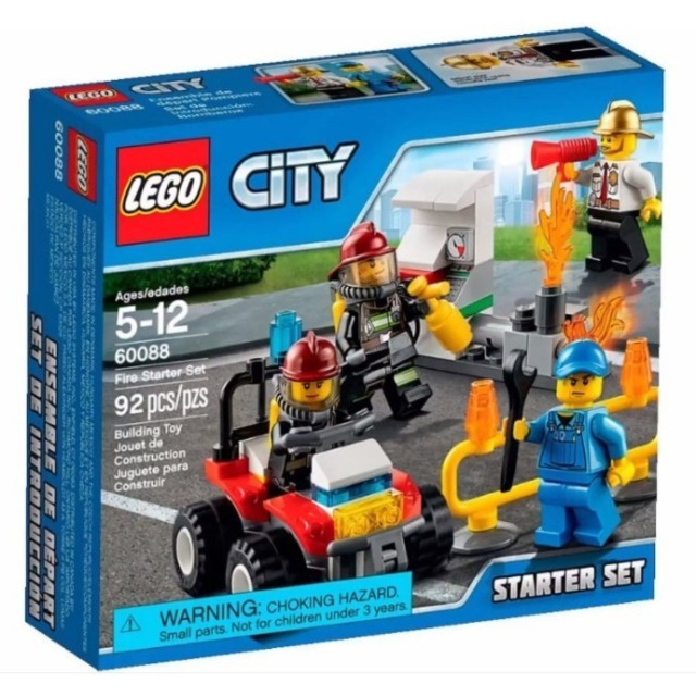 Obrázek produktu LEGO CITY 60088 Hasiči – startovací sada