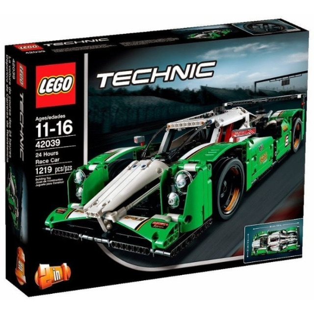 Obrázek produktu LEGO Technic 42039 GT vůz pro 24hodinový závod 2 v 1
