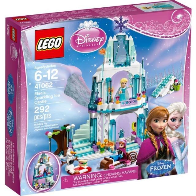 Obrázek produktu LEGO Disney 41062 Elsin třpytivý ledový palác