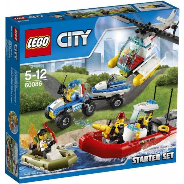 Obrázek produktu LEGO CITY 60086 Startovací sada LEGO® City