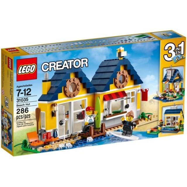 Obrázek produktu LEGO Creator 31035 Plážová chýše 3 v 1
