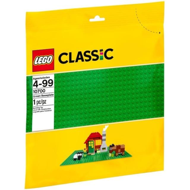 Obrázek produktu LEGO Classic 10700 Střední podložka na stavění jasně zelená