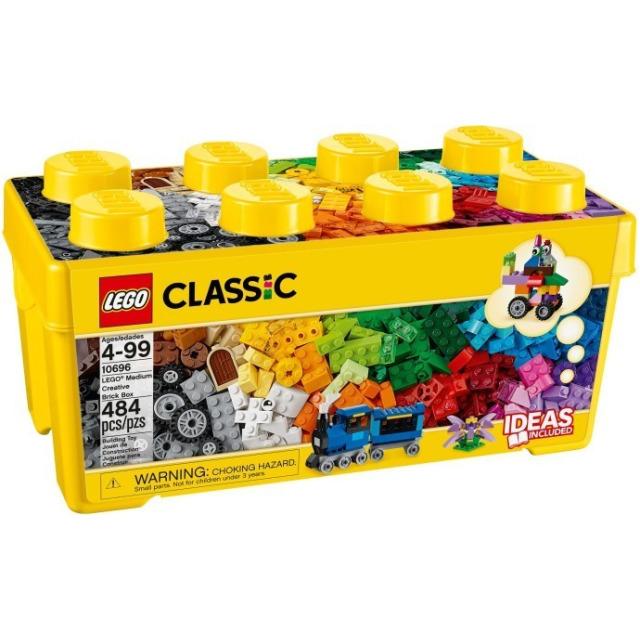 Obrázek produktu LEGO 10696 Kreativní box střední, 484 kostek