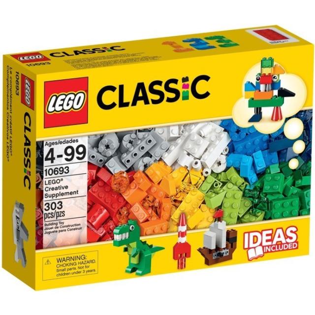 Obrázek produktu LEGO 10693 Tvořivé doplňky, 303 kostek