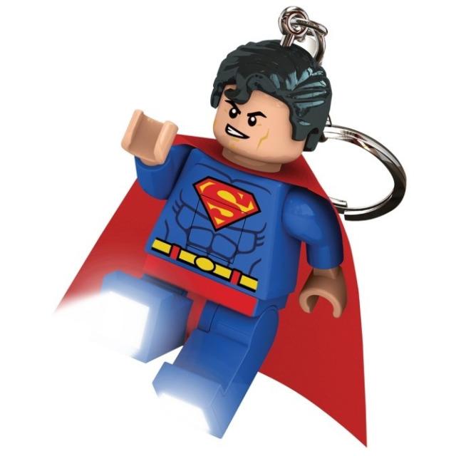Obrázek produktu Lego LED klíčenka Super Heroes SUPERMAN, 7 cm