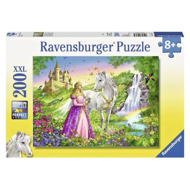 Obrázek produktu Ravensburger 12613 Puzzle Princezna s koněm XXL 200 dílků