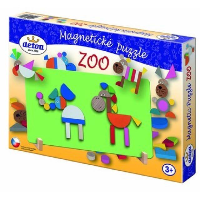 Obrázek produktu Magnetické puzzle ZOO