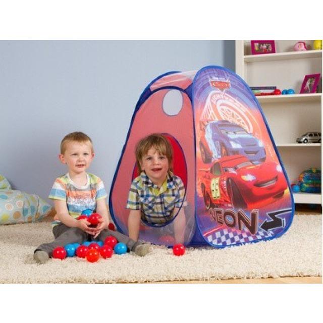 Obrázek produktu Dětský stan Pop Up Cars + 30 míčků