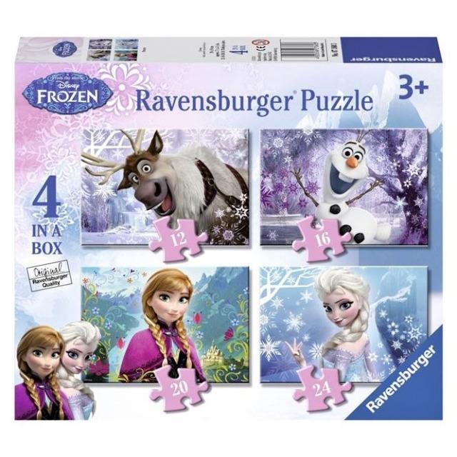 Obrázek produktu Ravensburger 07360 Puzzle Ledové království 4 v 1
